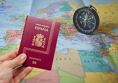 فرم ویزای اسپانیا
