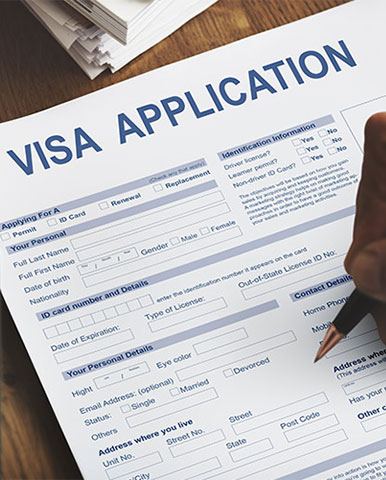 فرم ویزای بلژیک