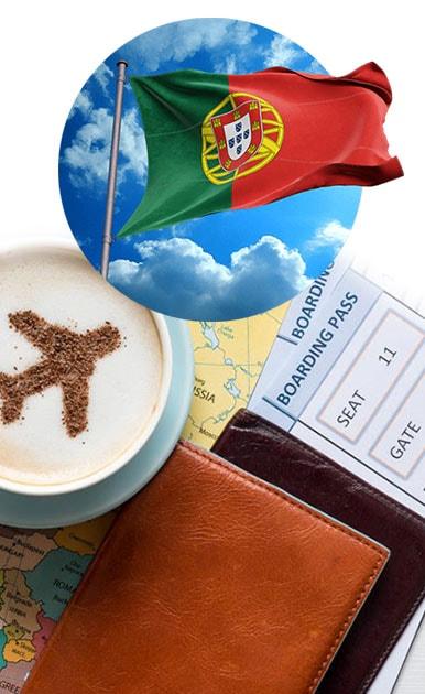 فرم ویزای پرتغال