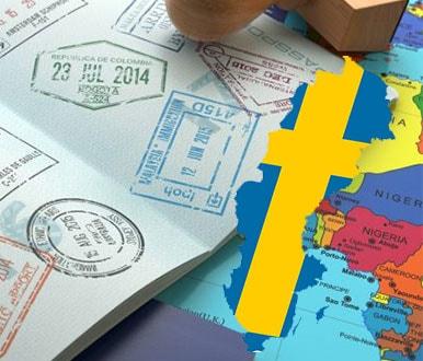 فرم ویزای سوئد
