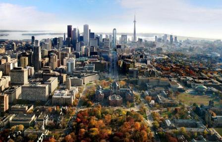 معماری فوتوریستی تورنتو