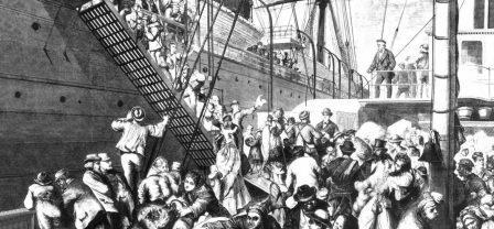 مهاجران اروپایی