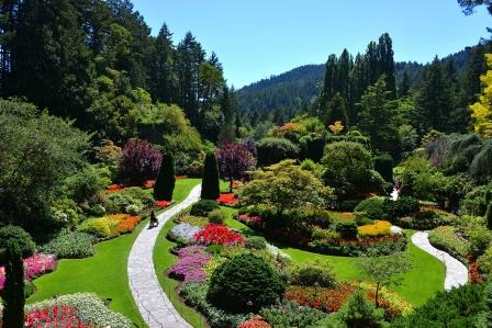 باغ های Butchart